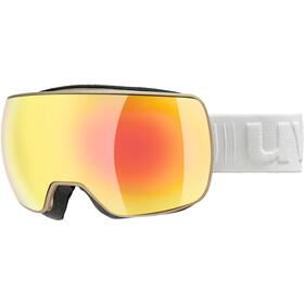 UVEX Compact FM Gafas, prosecco mat/fullmirror orange